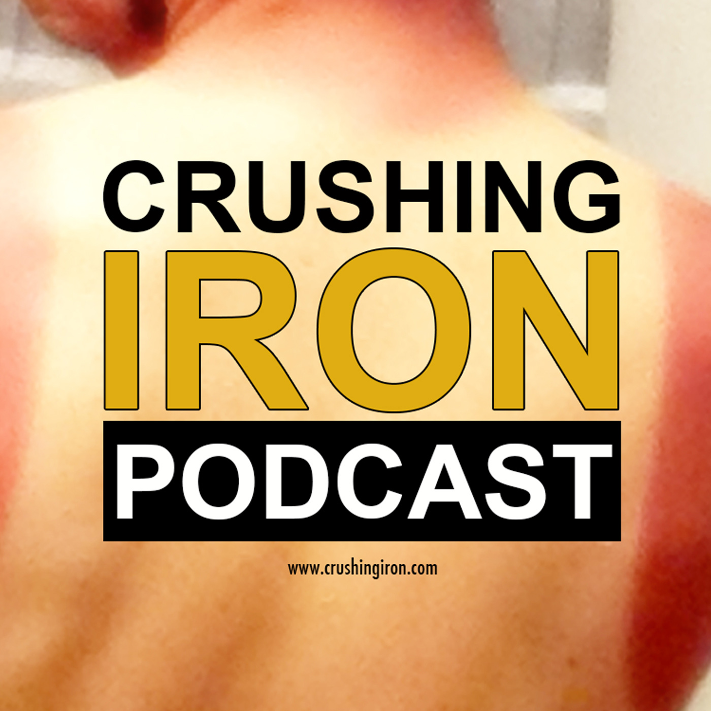 Crushing Iron Triathlon Podcast show art