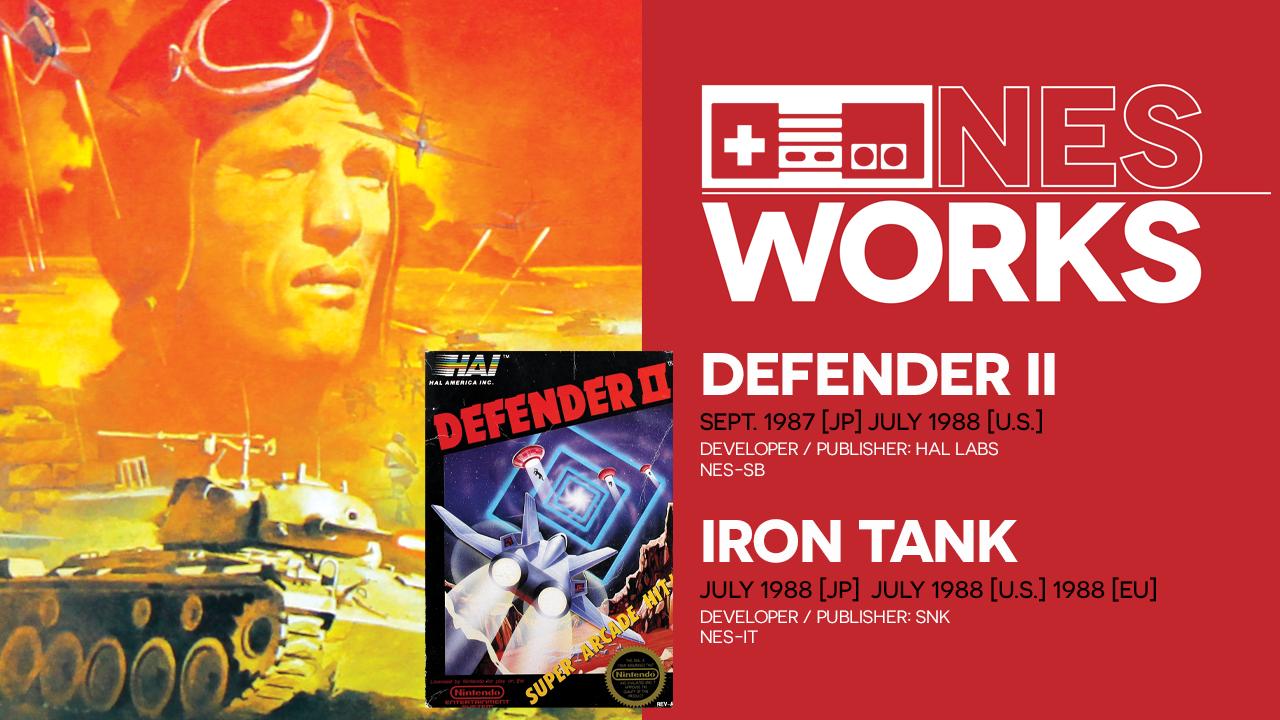 NES Works #082: Defender II & Iron Tank