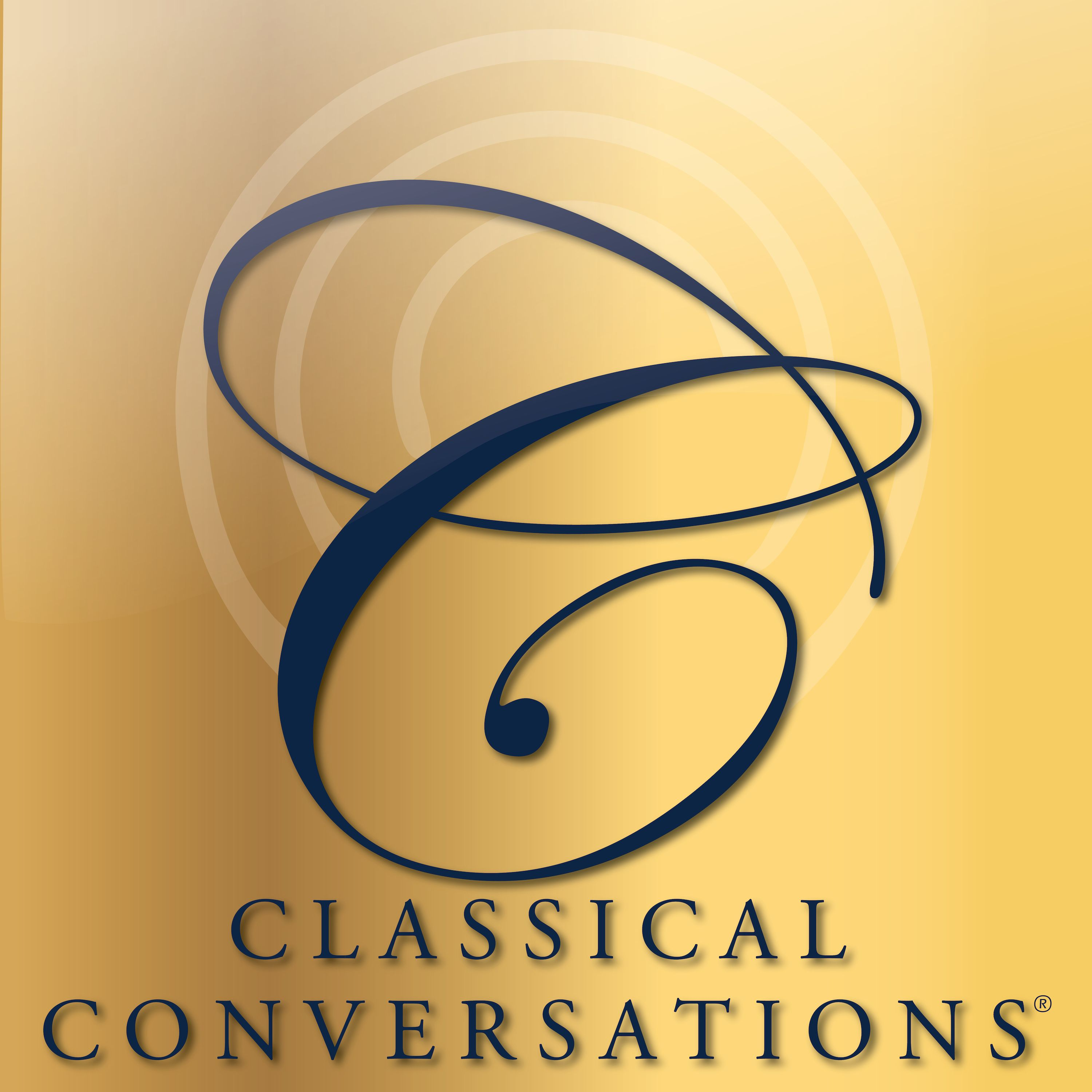 Classical Conversations Podcast show art