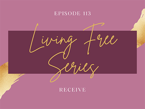 Living Free - Receive