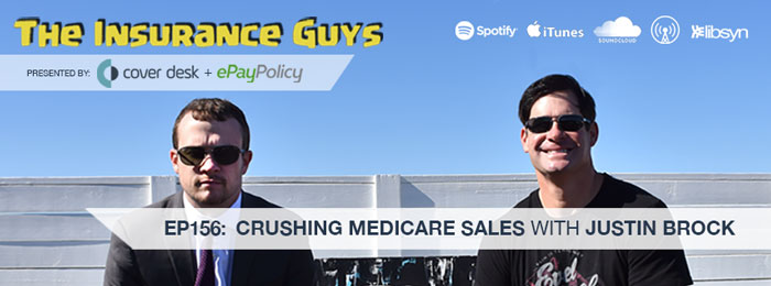 Justin Brock on The Insurance Guys Podcast