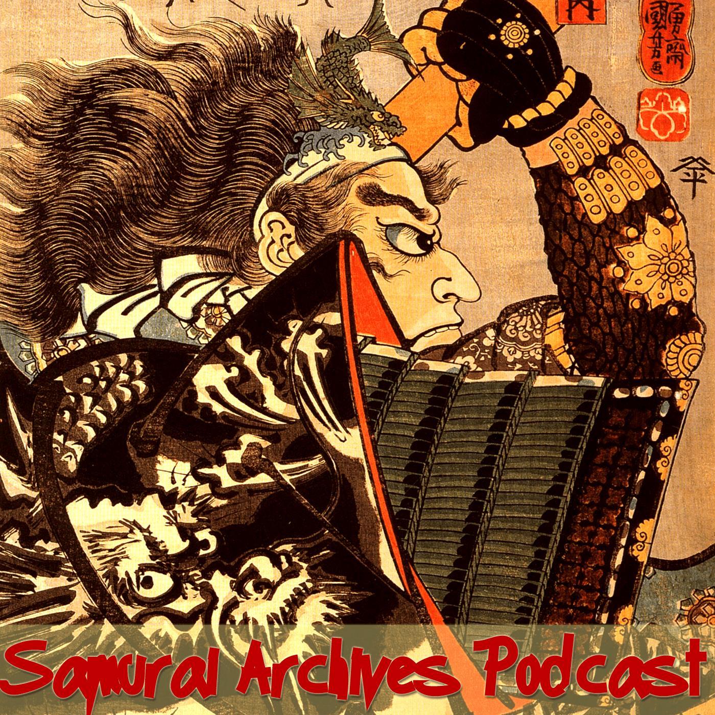 Samurai Archives Japanese History Podcast show art