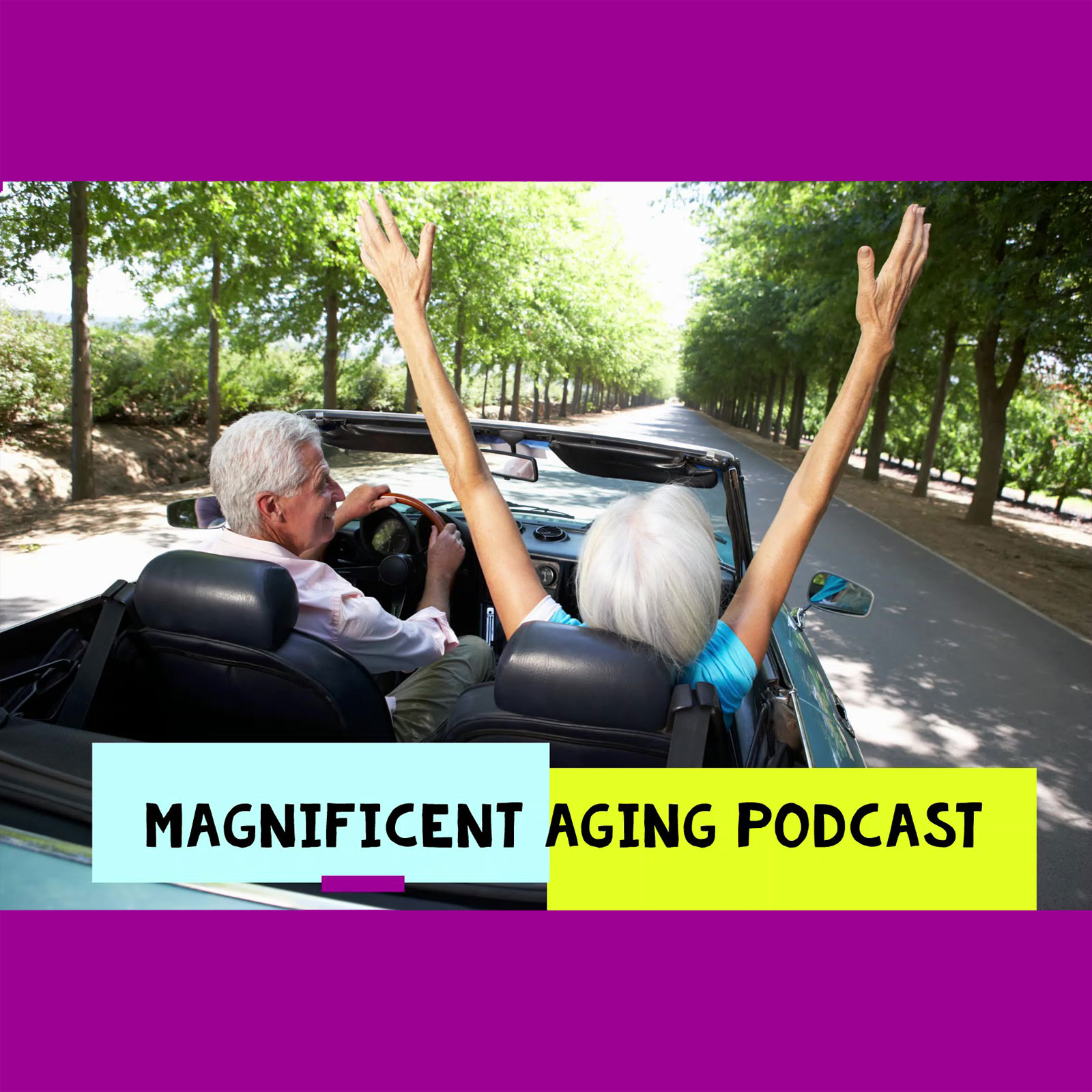 Magnificent Aging Podcast show art