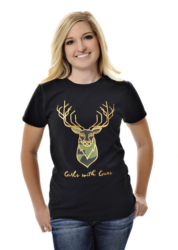 GWG stag tee