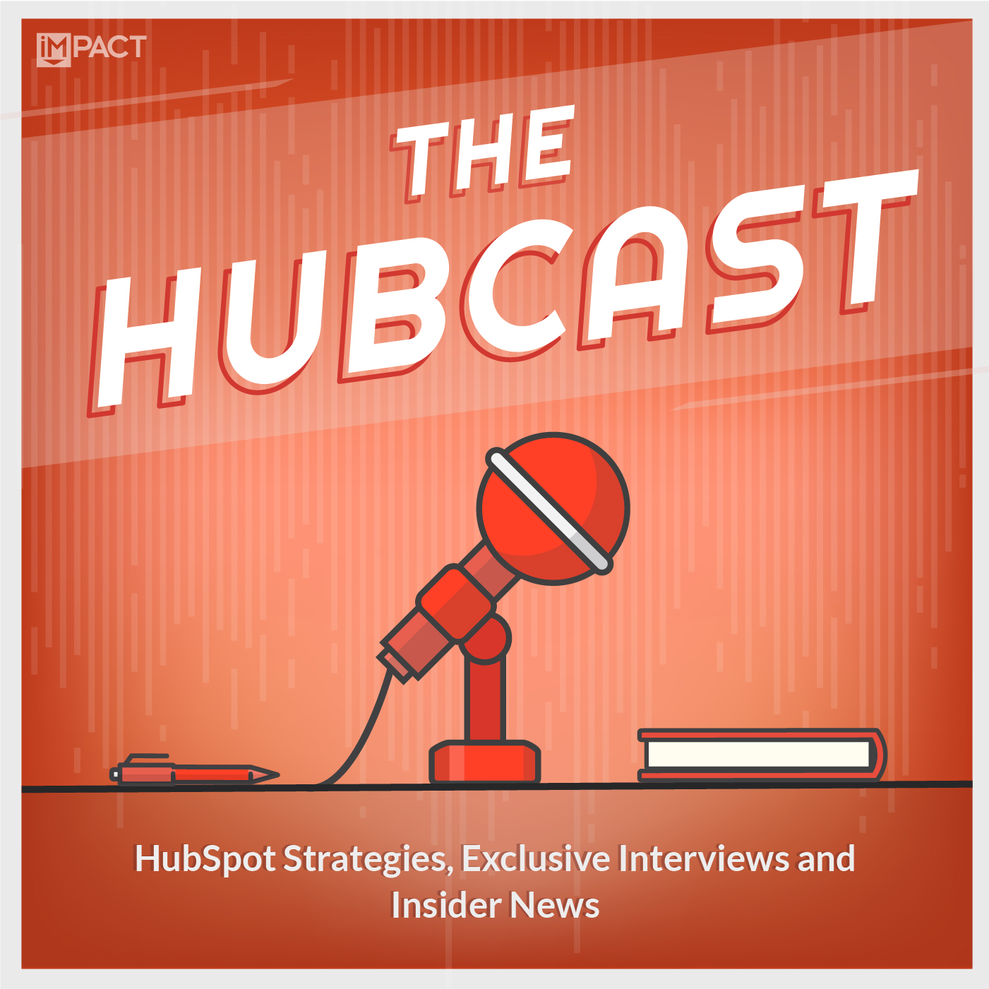 The Hubcast show art