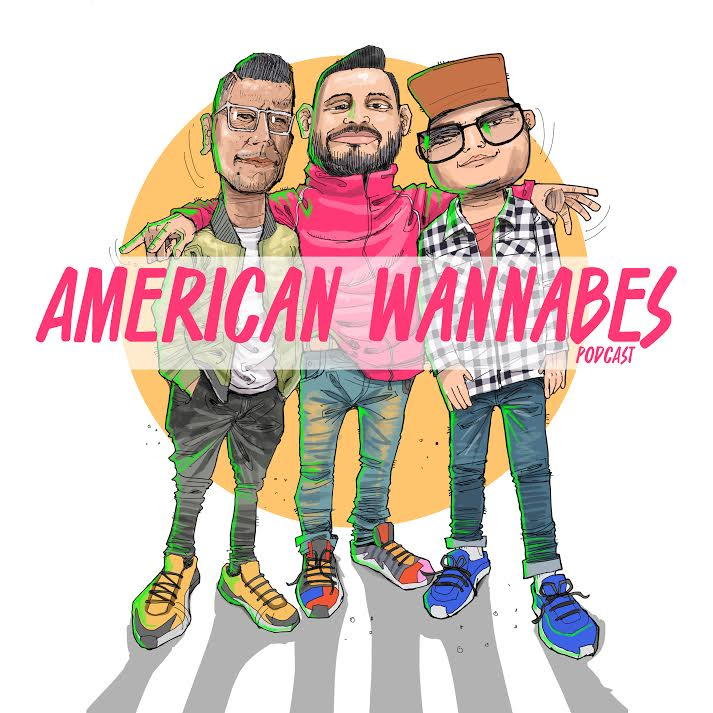 American Wannabes Podcast show art