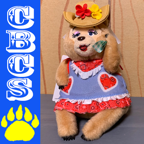 Artwork for 2019 Tokyo Disneyland Vacation Jamboree Trixie Plush - Country Bear Collector Show #205