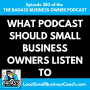 Artwork for What Podcast Should Sm Biz Owners Listen To?