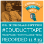Artwork for Mini007 - Dr. Nicholas Sutton talks Podcasting Tech, Tech Integration and Google Docs at #TeachBetter19!