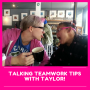 Artwork for Talking with Taylor- Mikelle finds out the secret to hiring great people.