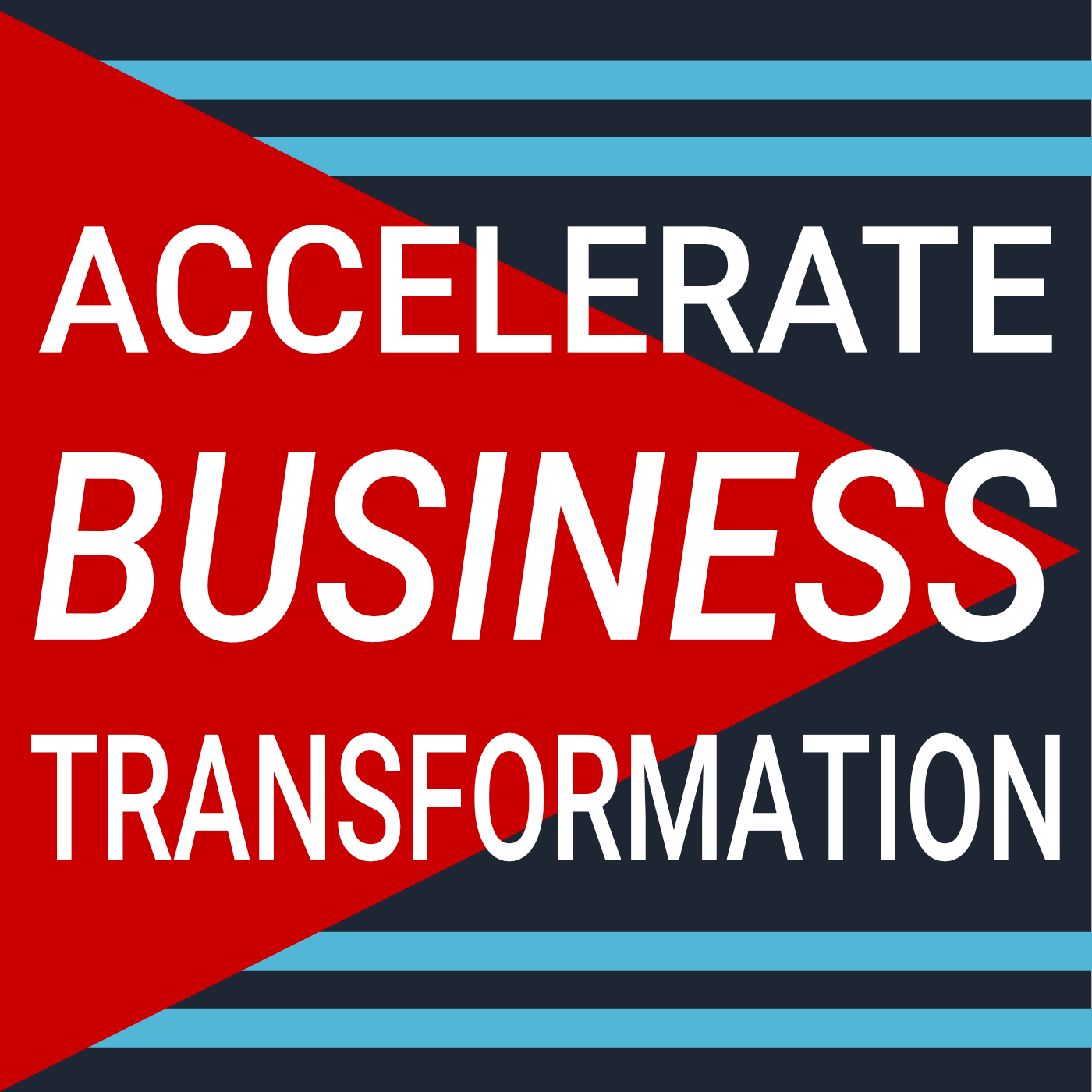 Accelerate Business Transformation show art