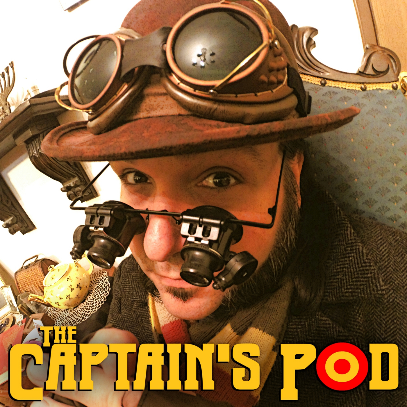Artwork for The Captain's Pod - Episode #19 - Geocaching with The Kovacs Boys!