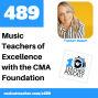 Artwork for Music Teachers of Excellence with the CMA Foundation
