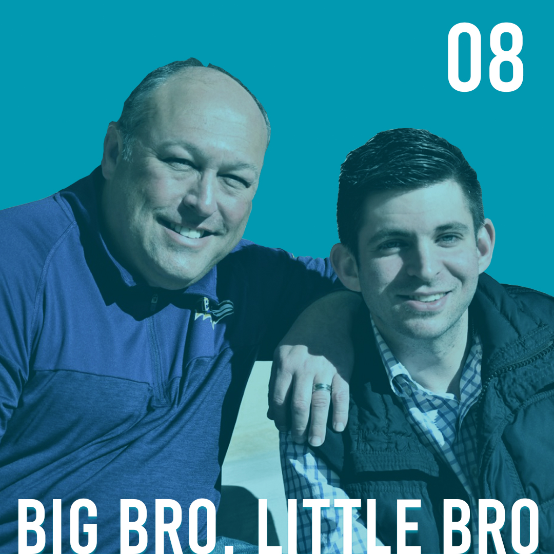 Big Bro. Little Bro. show art