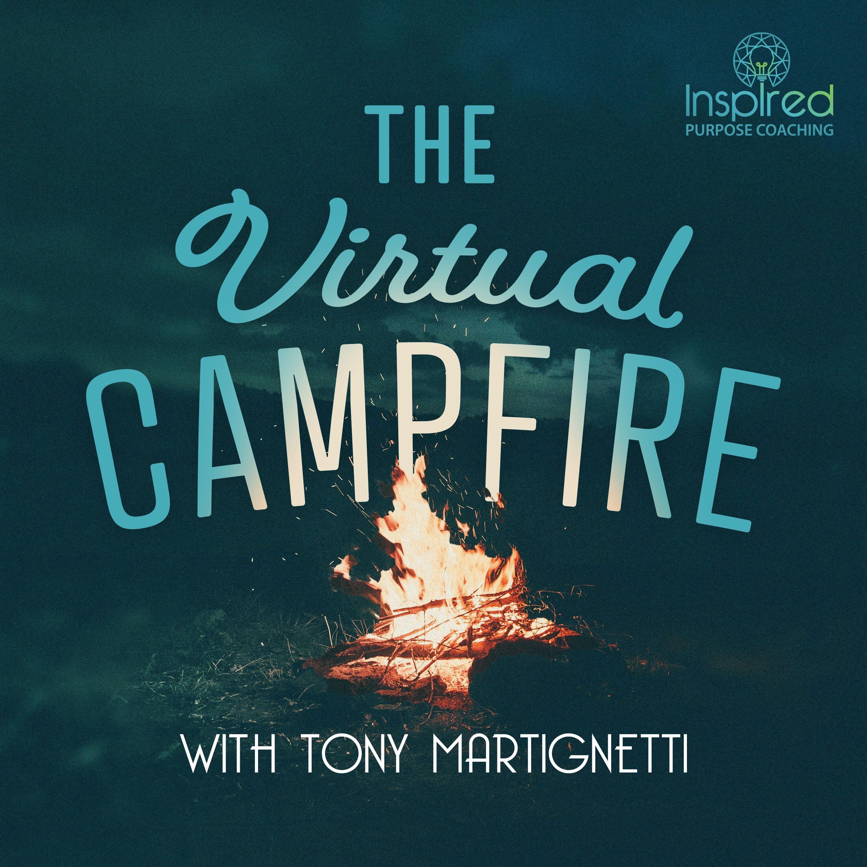 The Virtual Campfire's Podcast show art