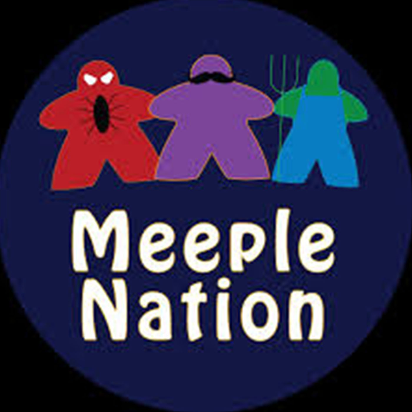 Meeple Nation Board Game Podcast show art