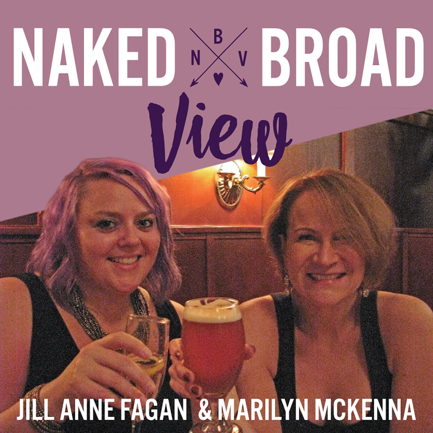 Naked Broad View show art