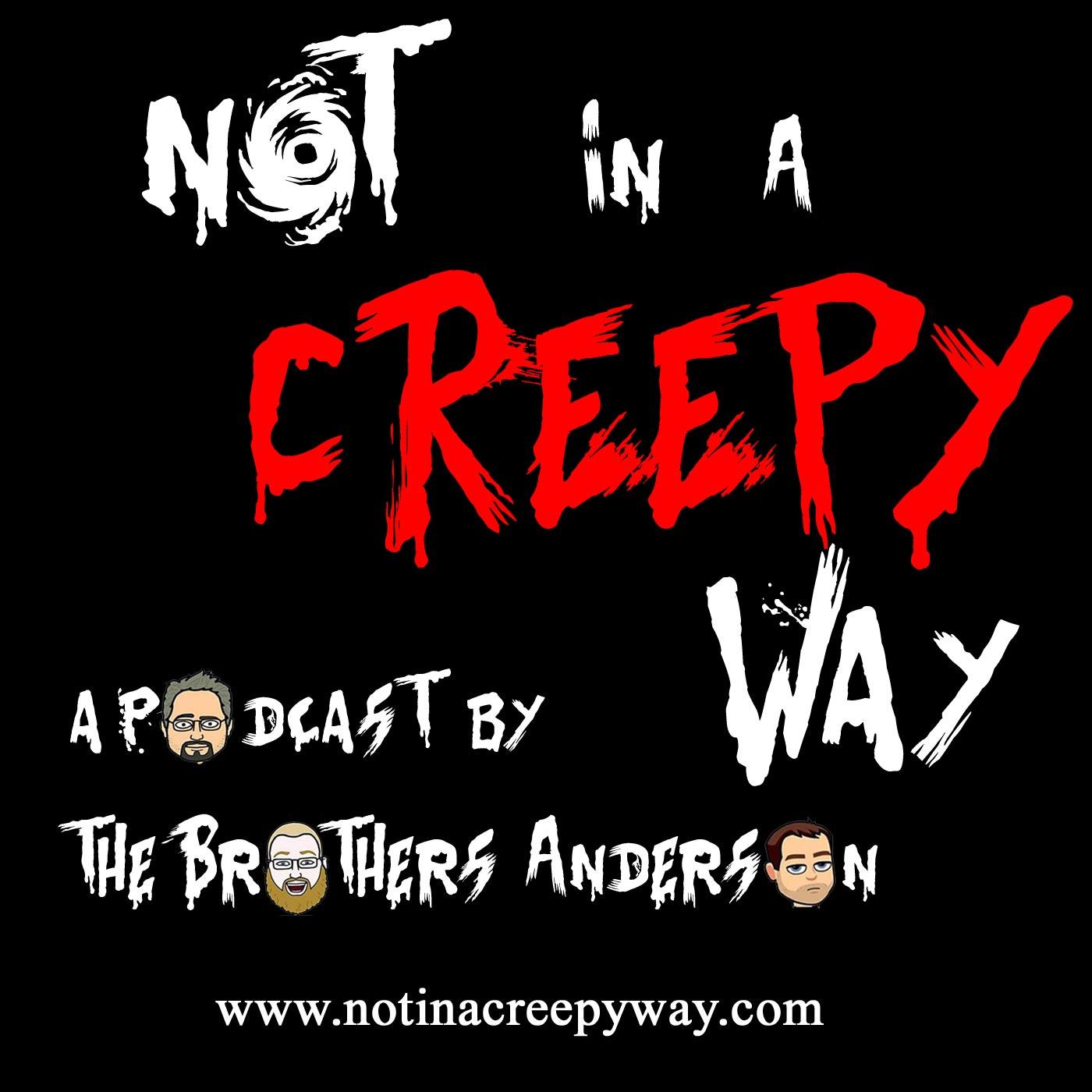 Not In a Creepy Way logo