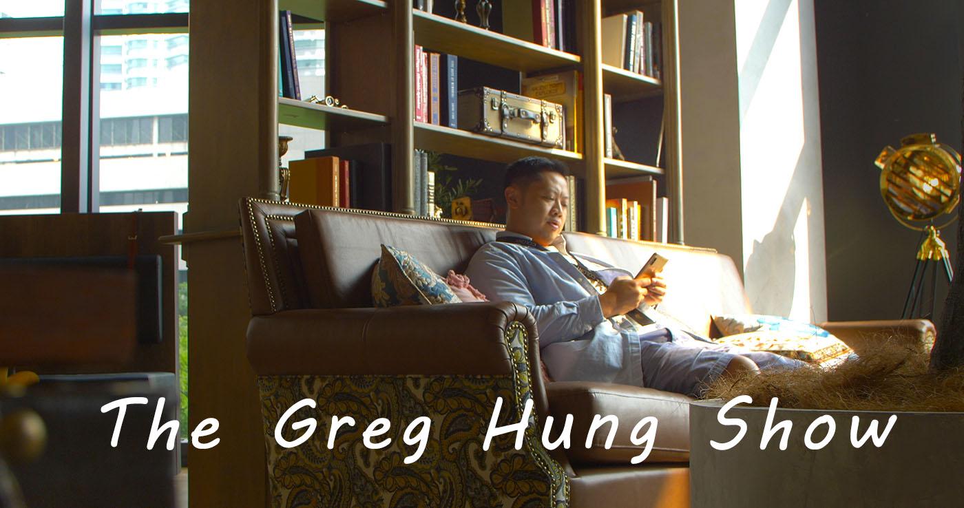 The Greg Hung Show show art