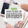 Artwork for How to Set Up Your Mobile Phone for Maximum Efficiency