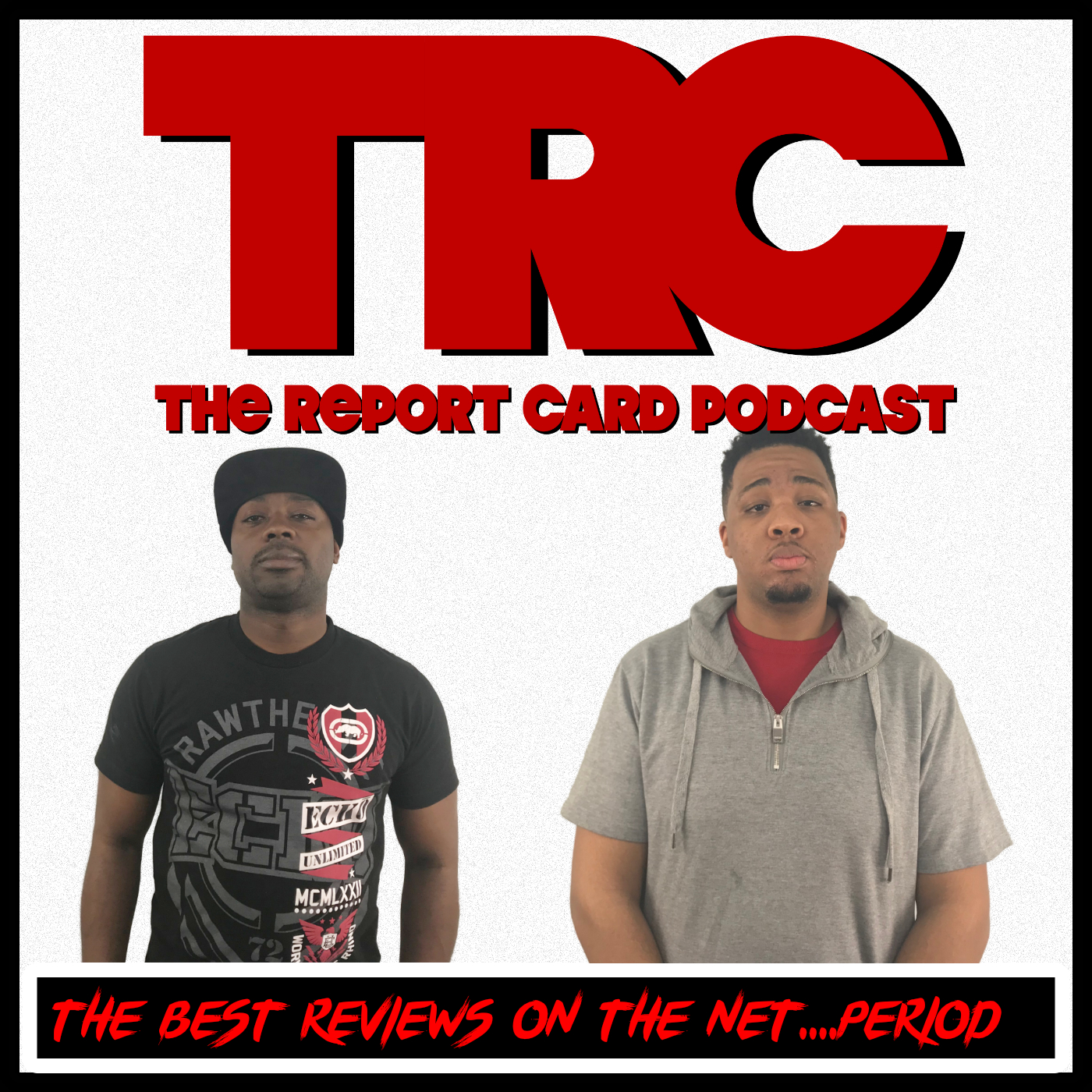 The Report Card Podcast show art