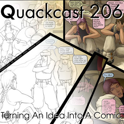 Episode 206 - Turning An Idea Into A Comic