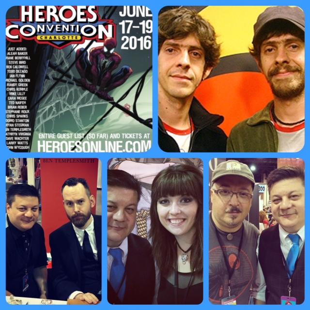Episode 695 - Heroes Con w/ Gabriel Ba/Fabio Moon/Francesco Francavilla/Ben Templesmith/Bridgit Connell!