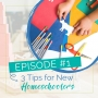 Artwork for Episode 1: 3 Tips for New Homeschoolers