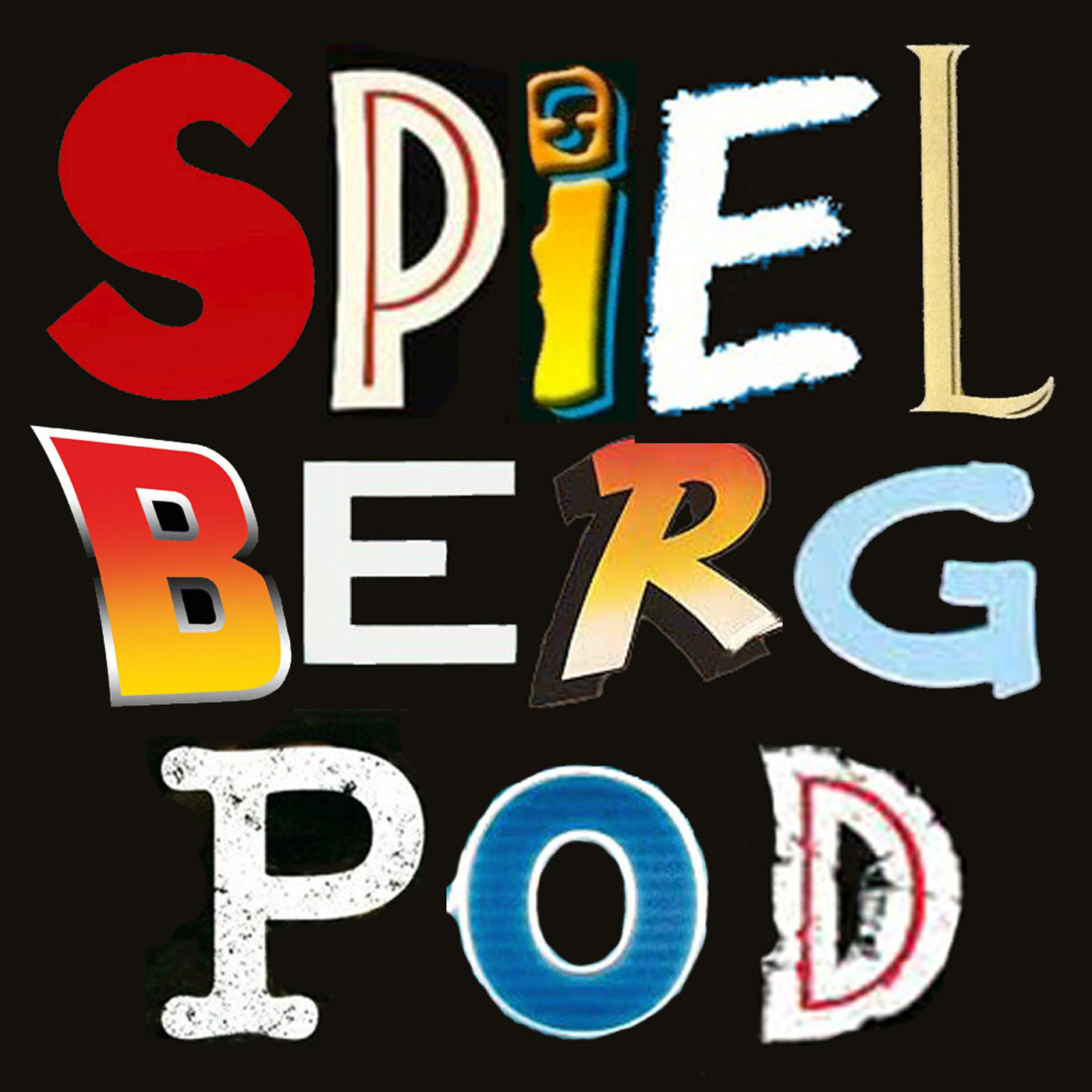 SpielbergPod - The Steven Spielberg Film Podcast show art