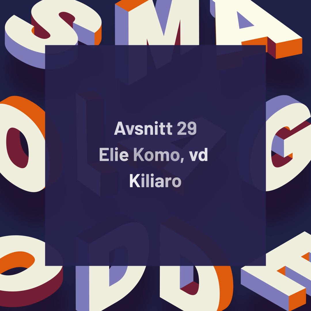 29. Kiliaro – Tar steget in på börsen