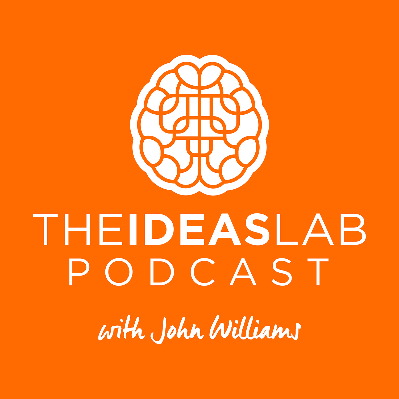 The Ideas Lab Podcast show art