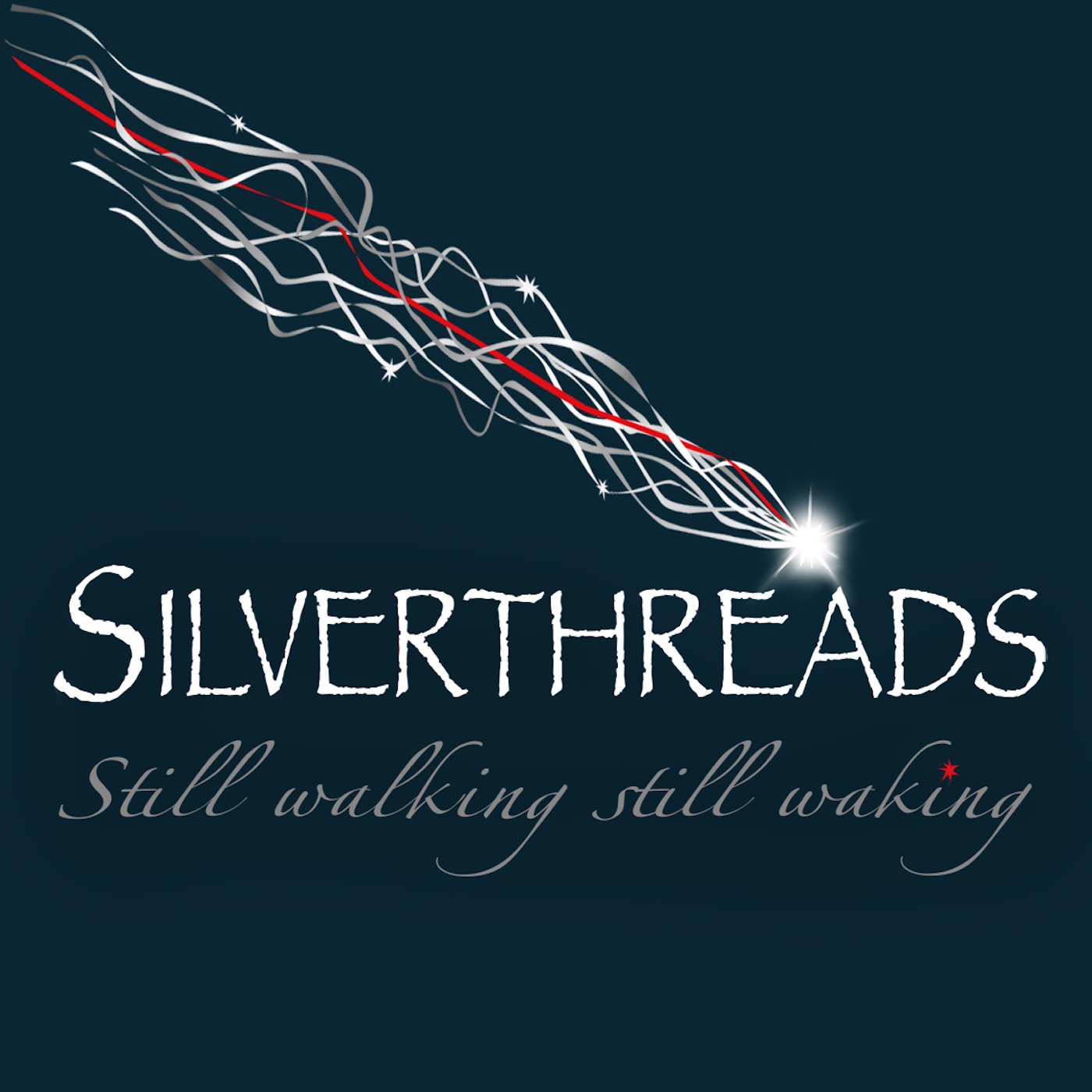 Silver Threads Podcast show art