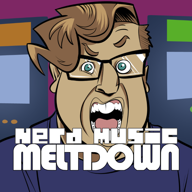 Nerd Music Meltdown show art