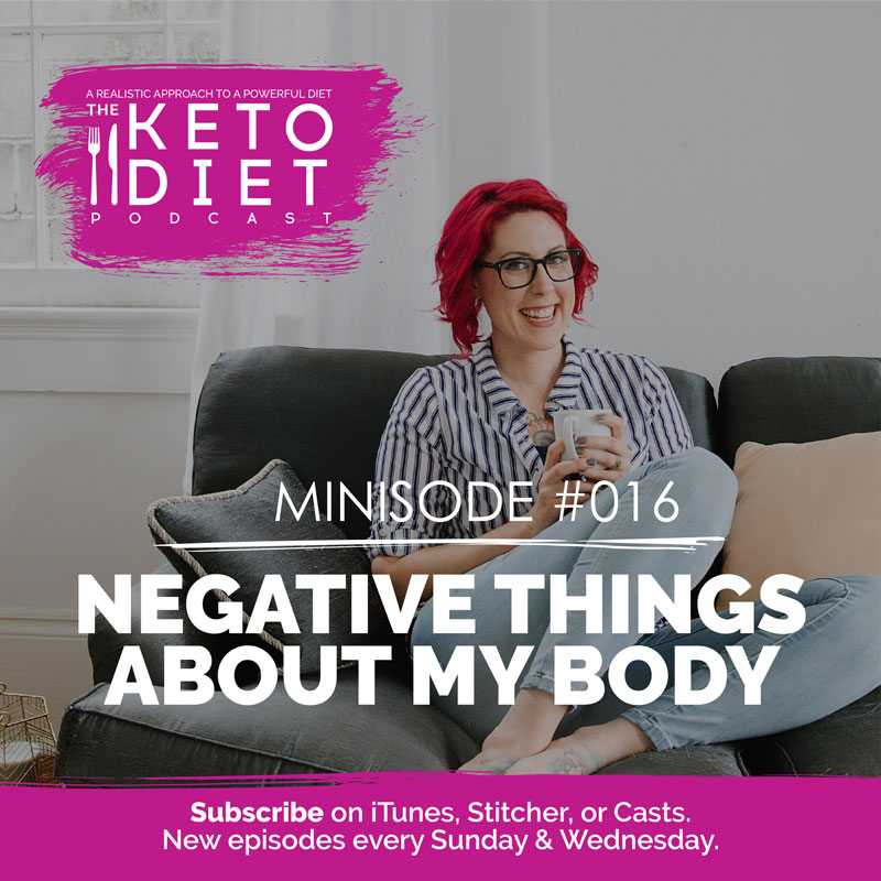 Negative Things About My Body