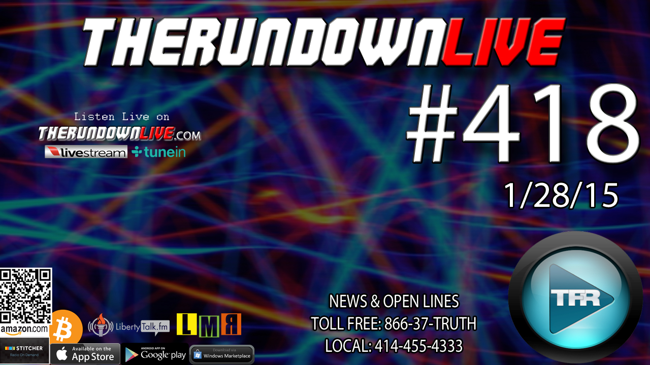 The Rundown Live #418 Open Lines (Weather,RFID,Education)