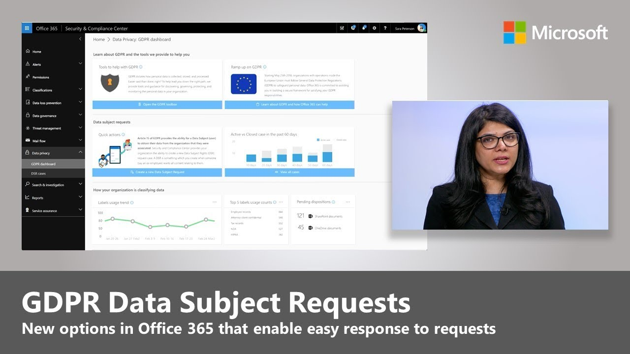 Artwork for Respond to GDPR Data Subject Requests with confidence in Office 365