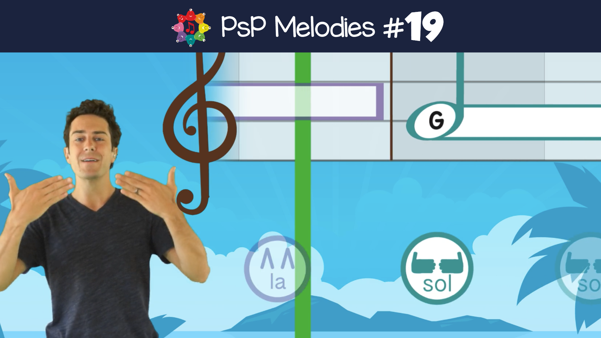 Melodies 19- Sol Ti Fa La Sol Mi Do