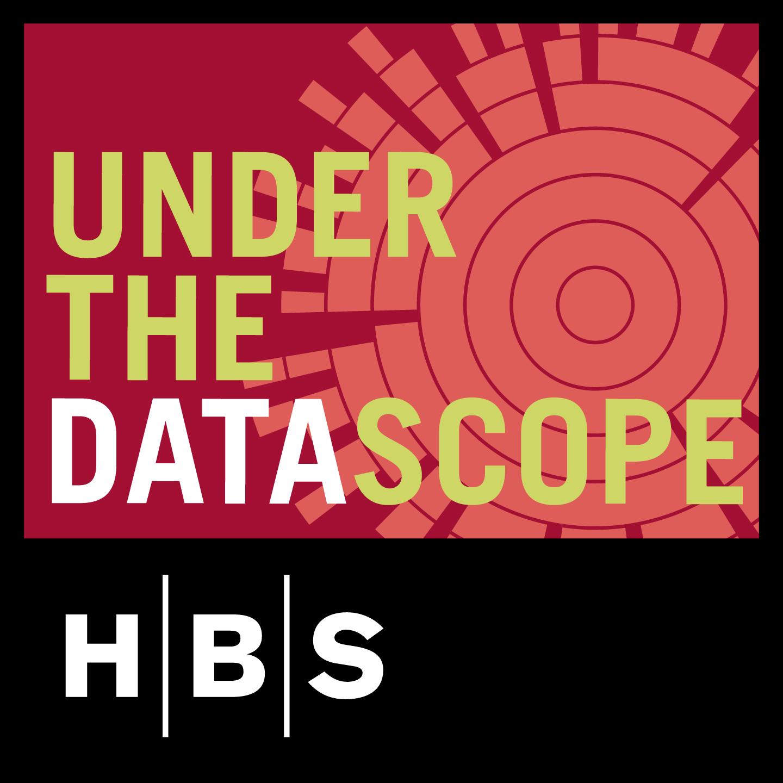 underthedatascope's podcast show art