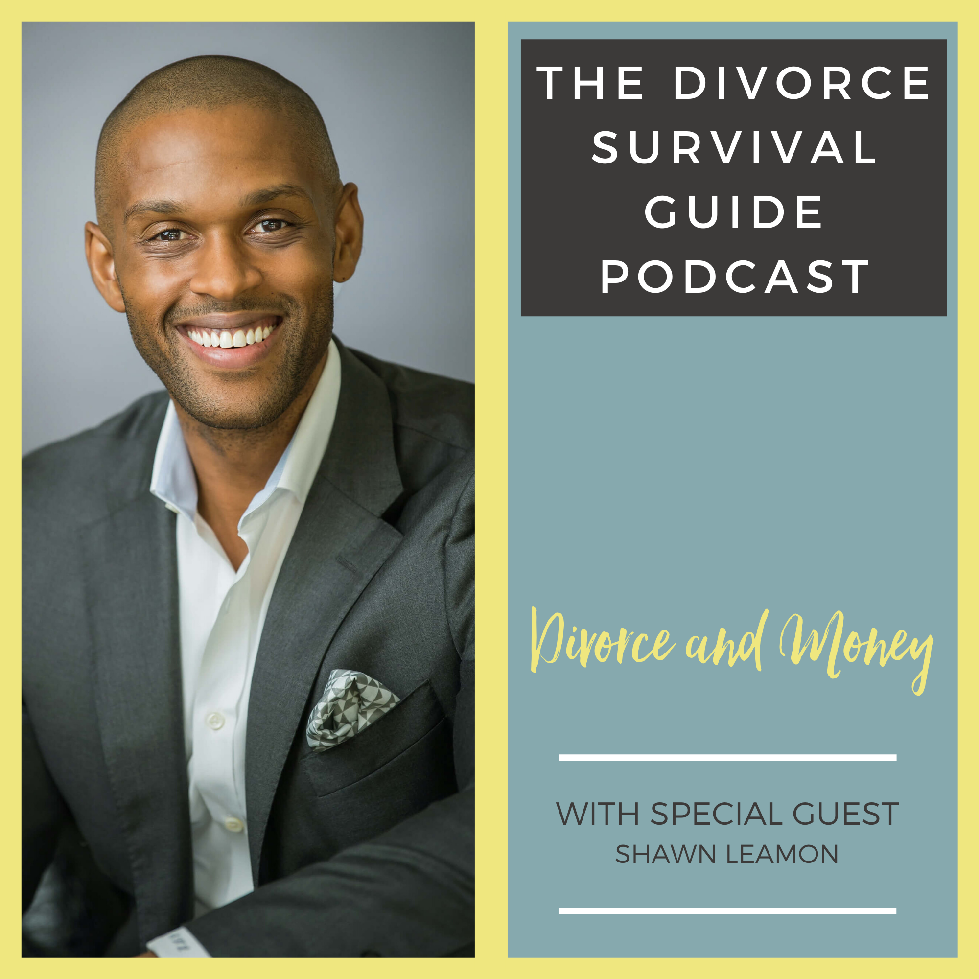 The Divorce Survival Guide Podcast - Divorce and Your Money with Shawn Leamon