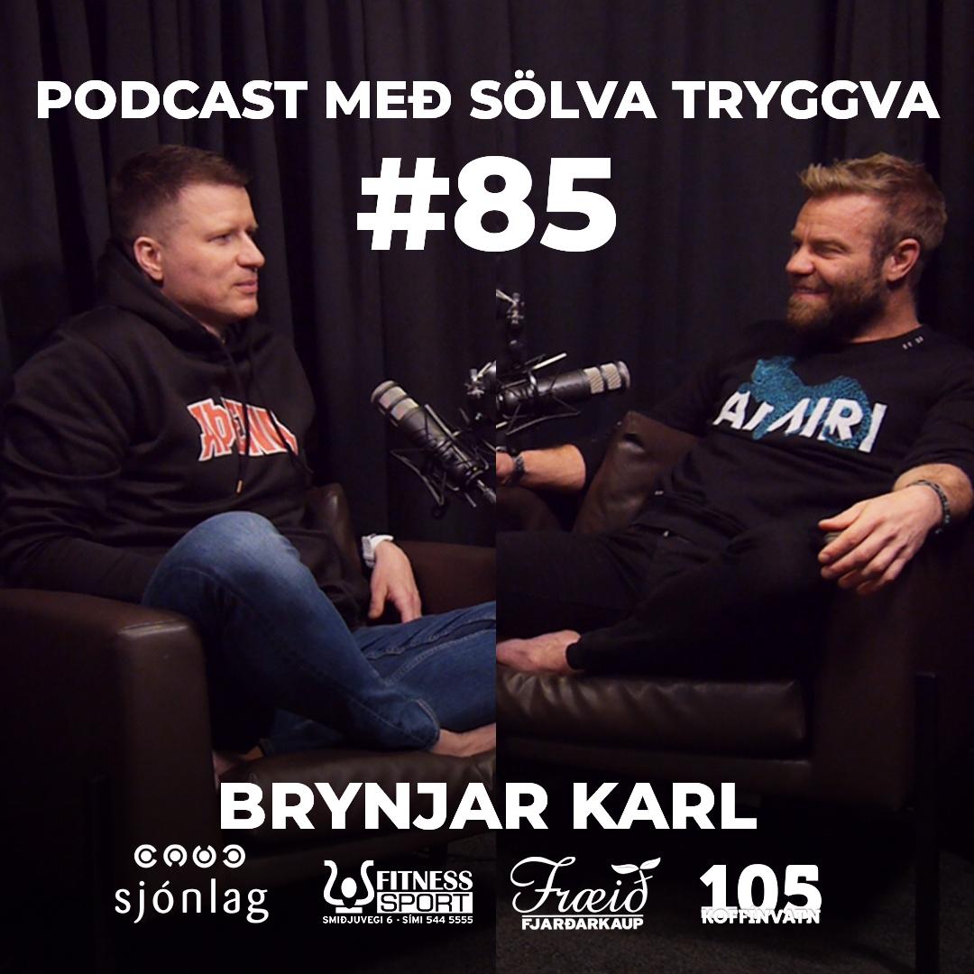 #85 Brynjar Karl með Sölva Tryggva