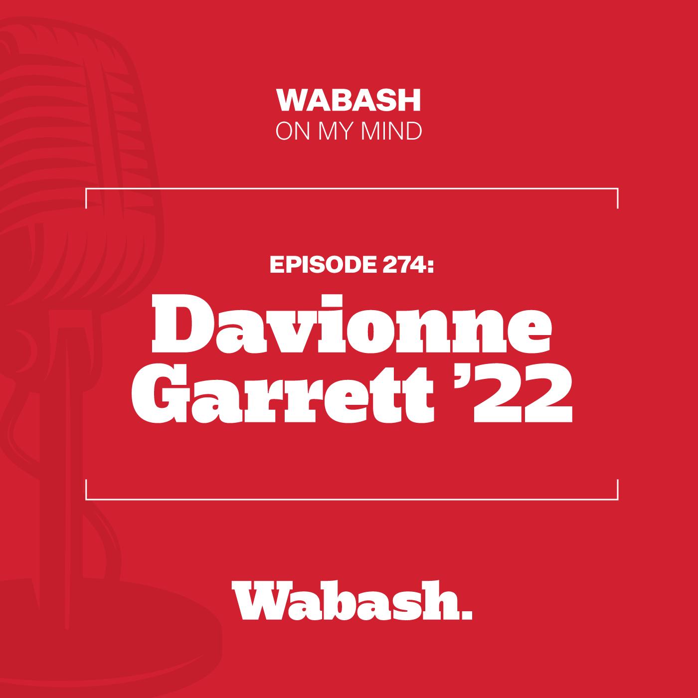 #274: Davionne Garrett '22