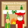 Artwork for Lesson # 65 - Deck of Many Holiday Things and Dragons