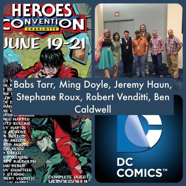 Episode 618 - Heroes Con: DC Panel with Ben Caldwell/Ming Doyle/Jeremy Haun/Stephane Roux/Babs Tarr/Robert Venditti