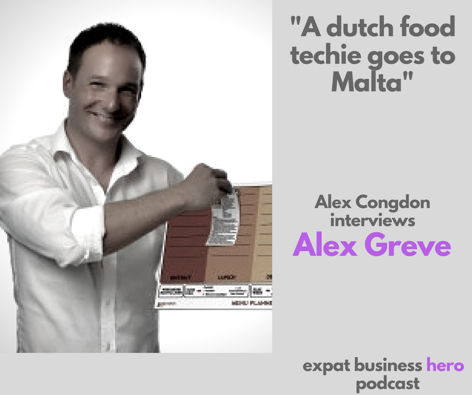 Alex Greve on Expat Business Hero podcast