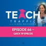 Artwork for 66 - Quick Tip Episode - How To Decide What To Set Your Retargeting Budget At