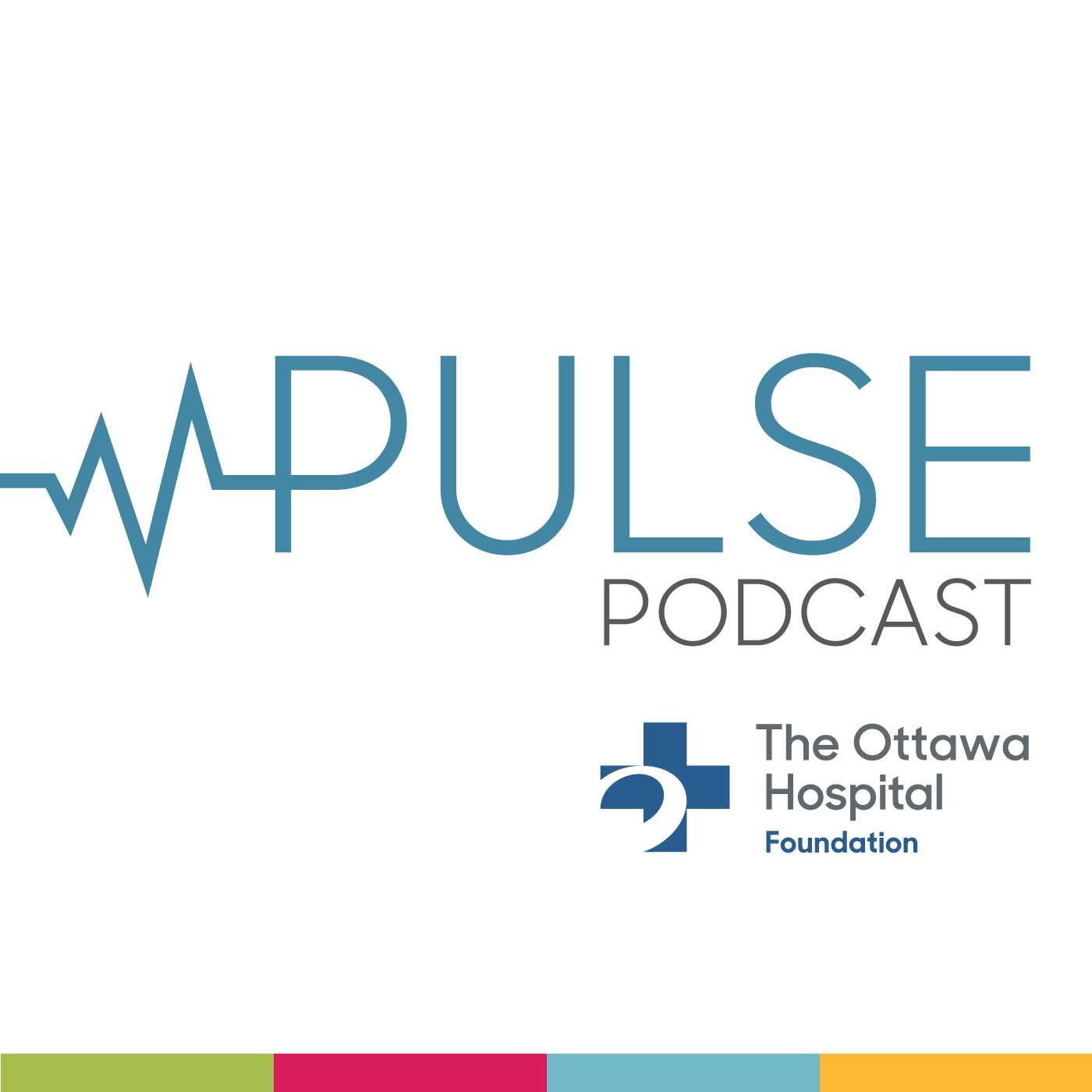 Pulse: The Ottawa Hospital Foundation Podcast show art