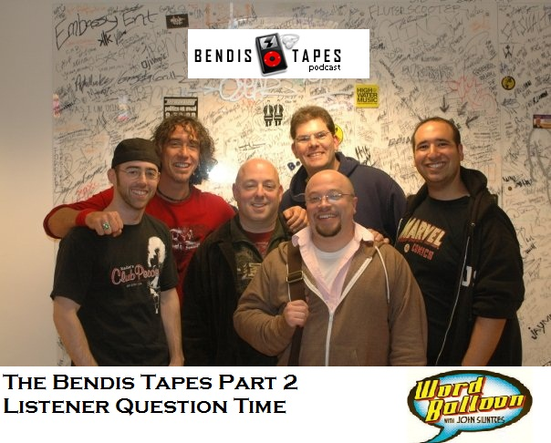 The Bendis Tapes Part 2 Let The Q and A Begin