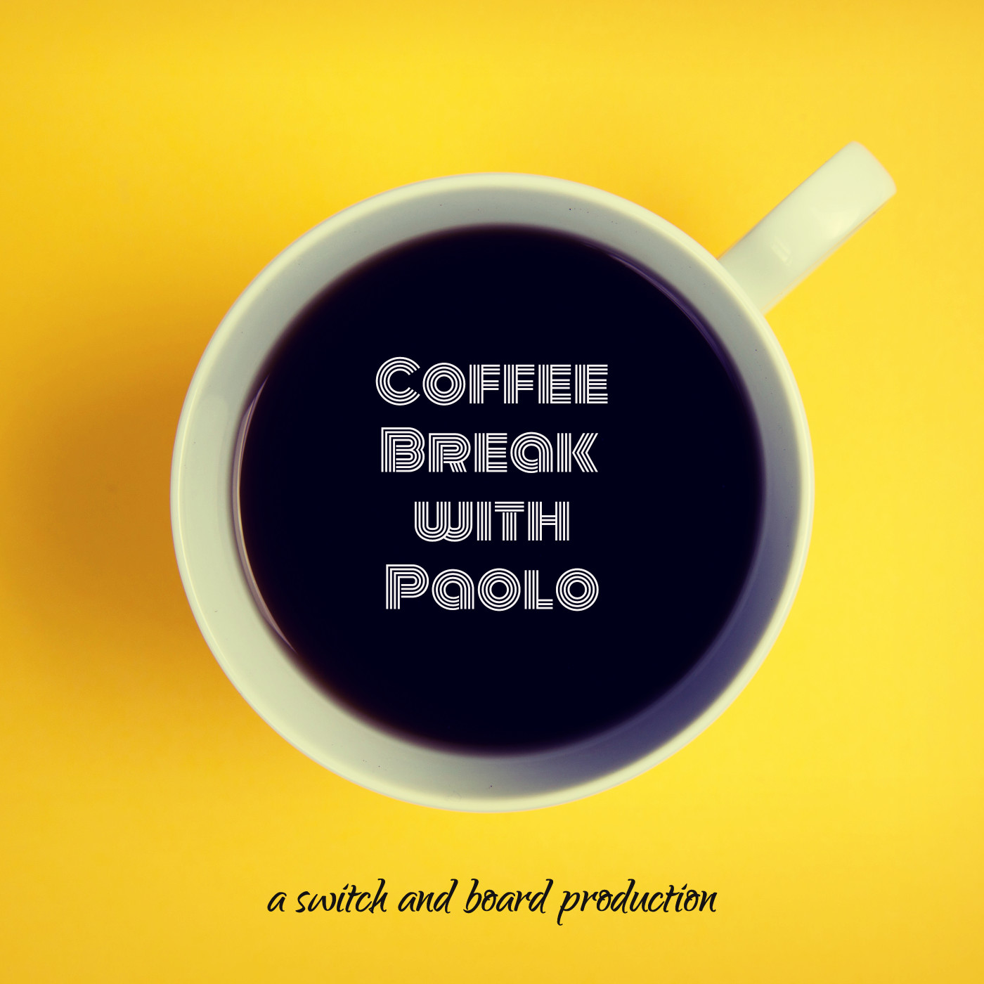 Bay Atlantic University presents: Coffee Break with Paolo show art
