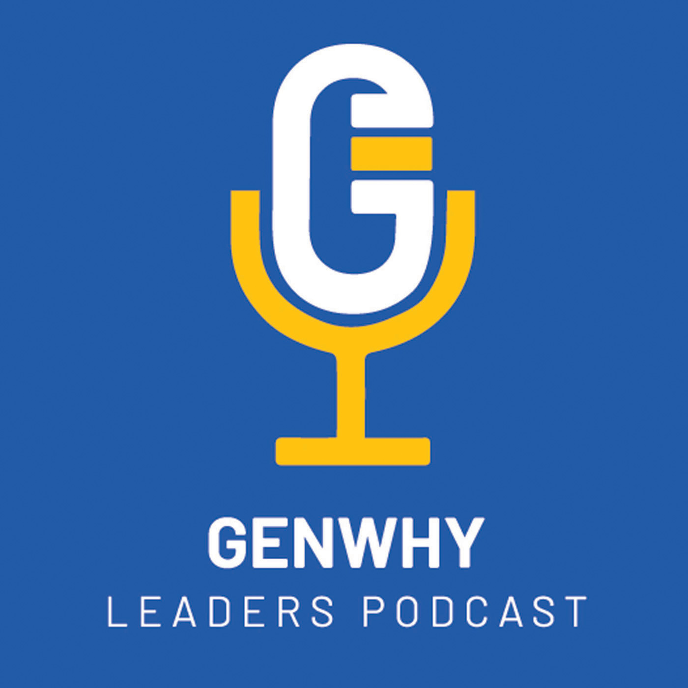 The GenWhy Leaders Podcast show art