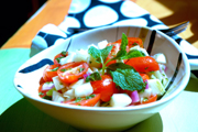 Minty Tomato-Fennel Salad